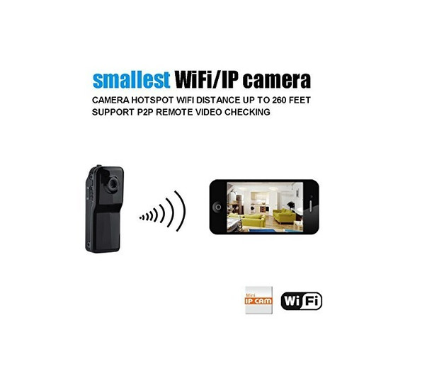 US $17 0 |Mini Wifi Ip Wireless Surveillance Camera Remote Cam Support  Android Iphone PC Viewing-in Surveillance Cameras from Security &  Protection on