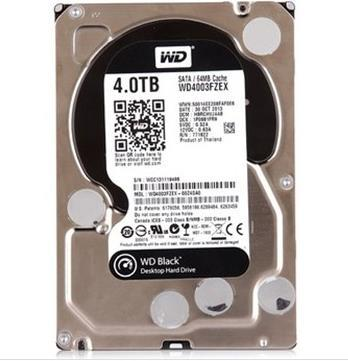 3 years warranty  100%New and original  BLACK   WD4003FZEX   4TB 7200TURN 64M SATA6Gb/s