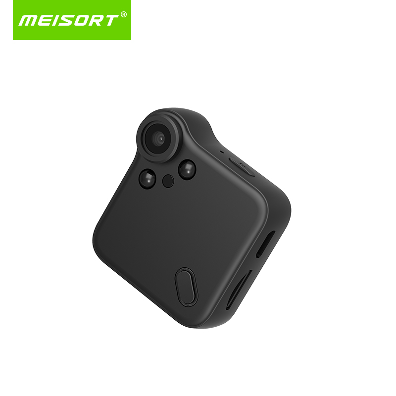 Meisort WIFI Mini Camera HD 720P Wearable IP Camera Motion Sensor Bike Body Micro Mini DV DVR Magnetic Clip Voice
