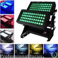 96 шт. 10 Вт яркий светодиодный Город Цвет IP65 водонепроницаемый мыть светодиодный свет наружного освещения
