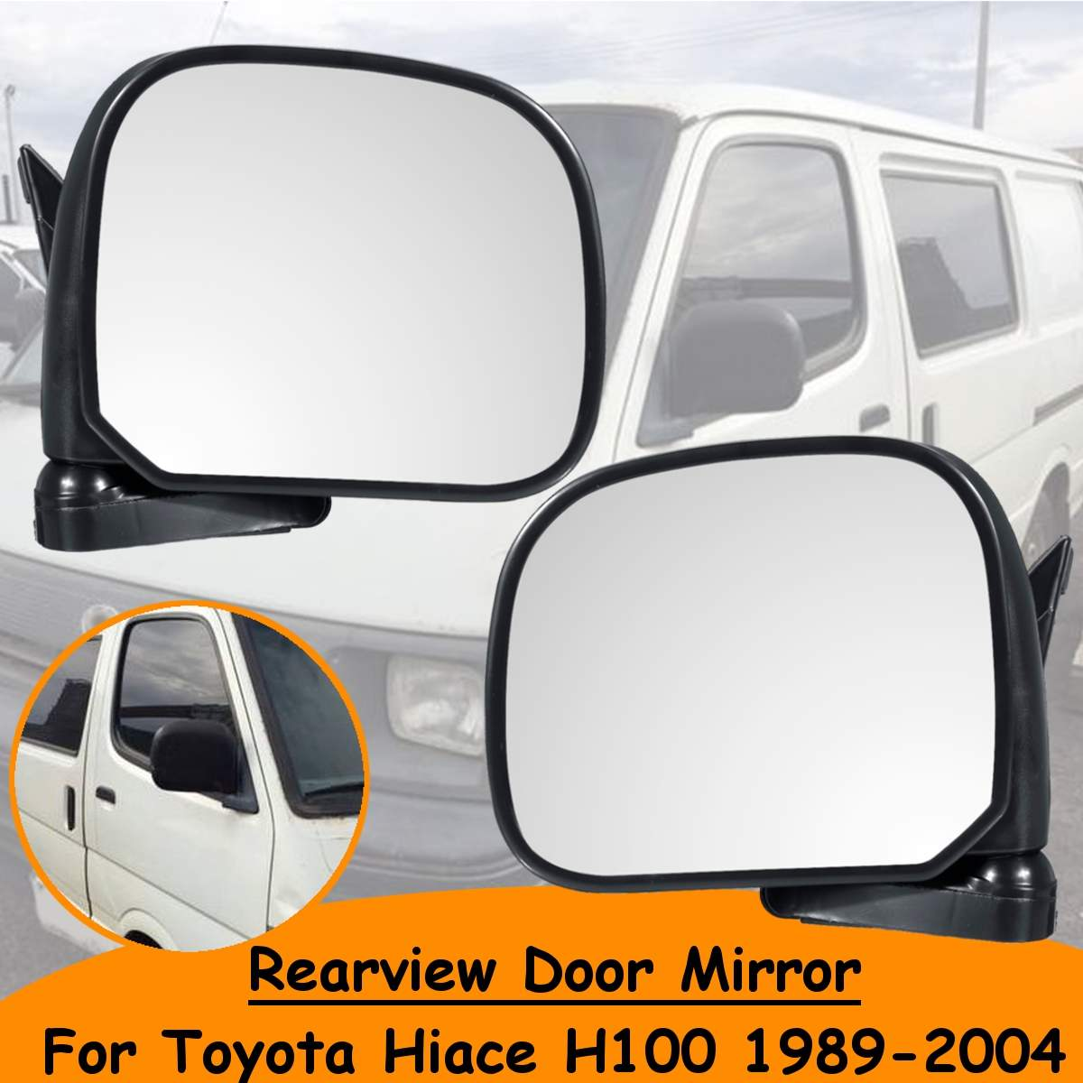 RIGHT DRIVER SIDE LANDROVER DISCOVERY 1995-2005 MIRROR GLASS