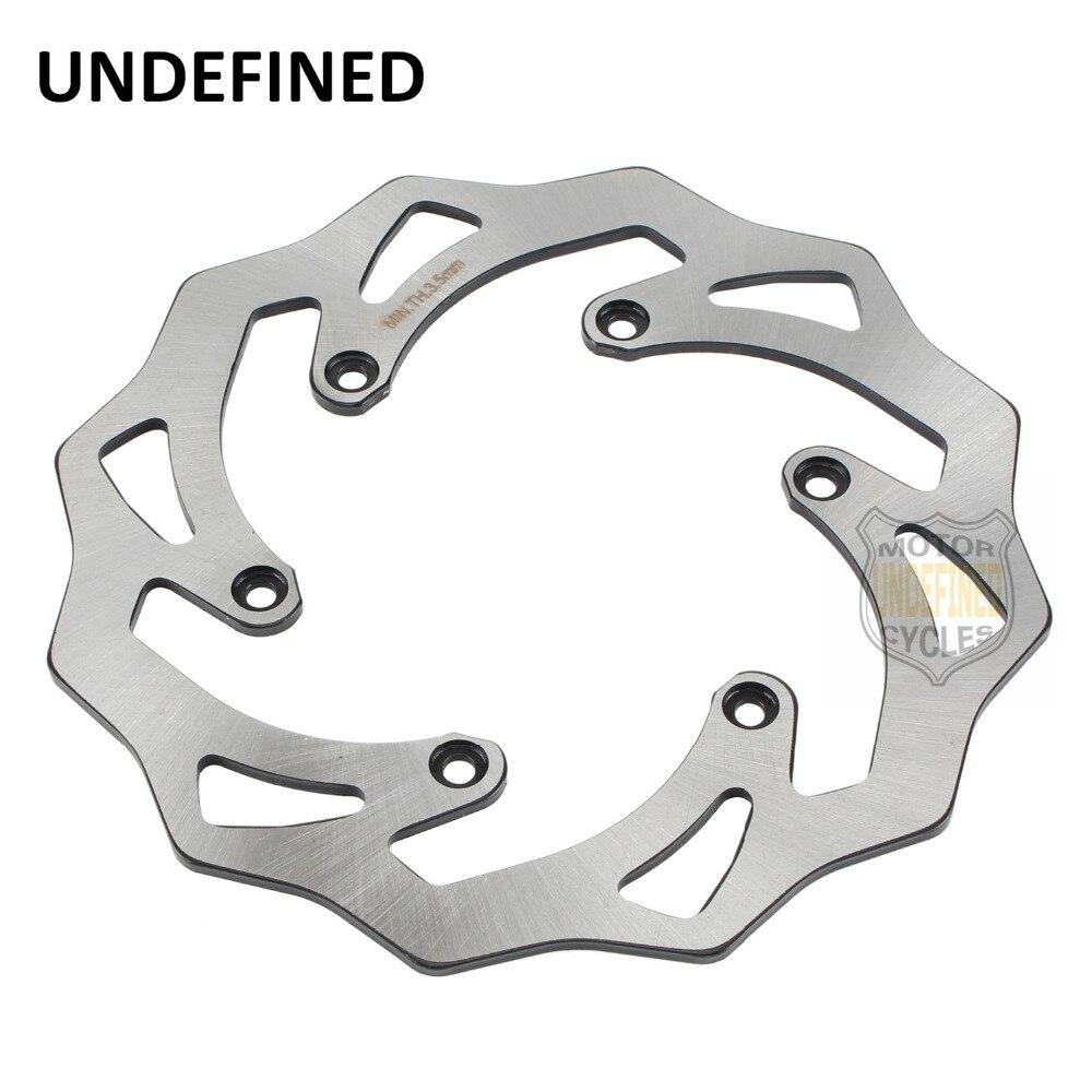 Nouveau Moto CNC Arrière Disque De Frein Rotor Pour KTM SX SXF SX-F 2003-2012 125 150 250 300 350 400 450 FS C650 Motos UNDEFINED