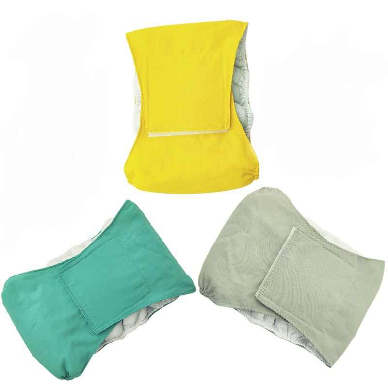 Waterproof Pet Diapers Male Dog Diaper Puppy Breathable Physiological Pants for Dog Nappy Belly Bands Wraps Sanitary Pants