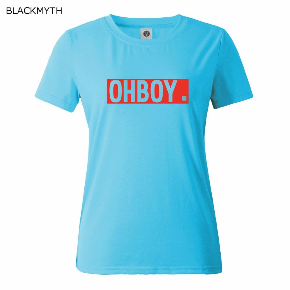HTB14XIIQFXXXXbpXFXXq6xXFXXXg - OHBOY Printing T-shirt Tops Summer Woman Clothing