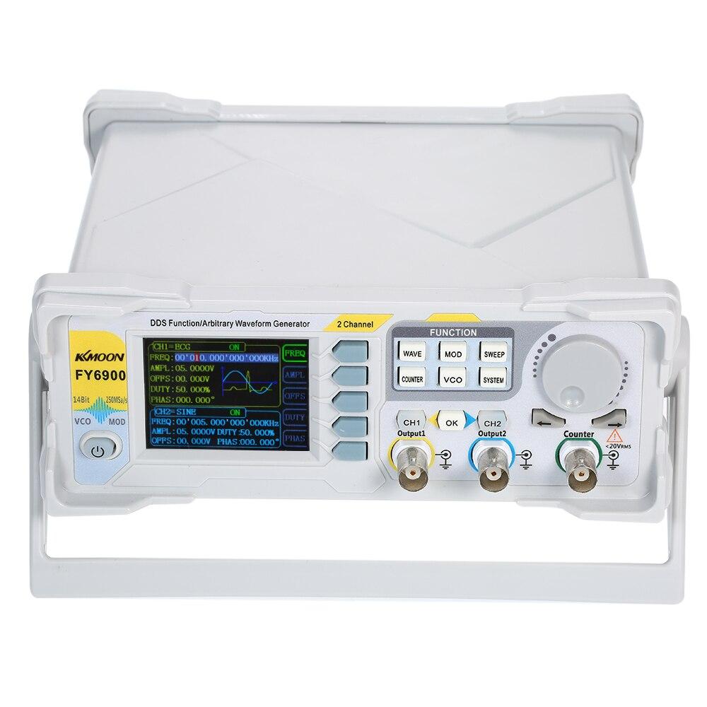 KKmoon 20 MHz DDS Gerador de Sinal Digital Dual-channel de Alta Precisão 250MSa/s Pulso Medidor de Freqüência Gerador de Função