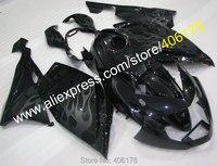 Лидер продаж, для BMW K1200S 05 06 07 08 К 1200 S 2005 2008 K1200 S 2005 2006 2007 2008 ABS черное пламя Мотоцикл обтекатель набор
