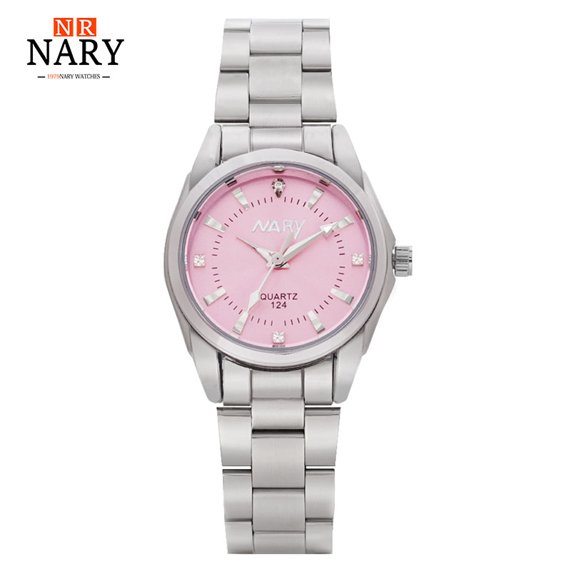 New Fashion Watch Women Stainless Steel Quartz Watches Women's Wristwatch Relogio Feminino Rhinestone Lady Dress Watch Gift Box misscycy lz the 2016 new fashion brand top quality rhinestone men s steel band watch quartz women dress watch relogio feminino