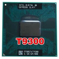 Оригинальный процессор INTEL T9300 2,5/6 M/800 pin версия PGA