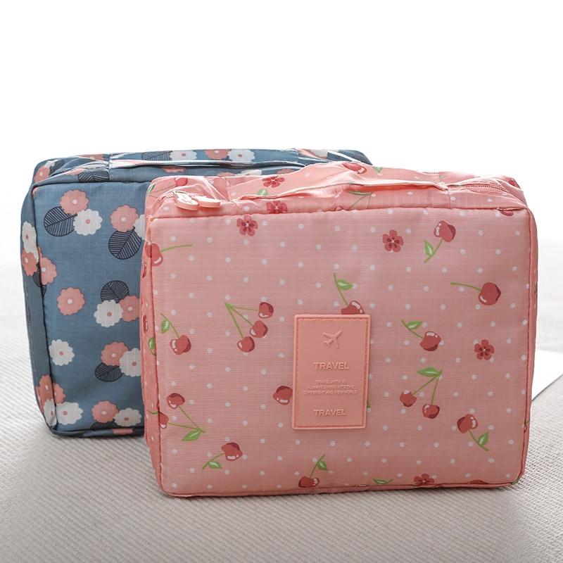 Traveling Cosmetics Storage Box With Hans