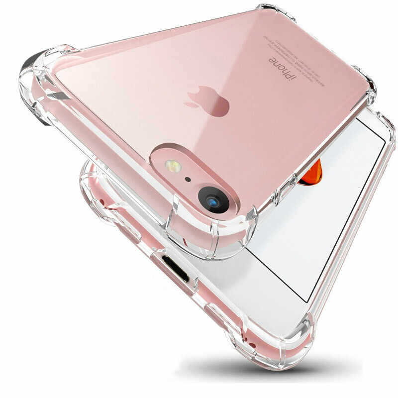 Transparent Protective Case For iPhone X XS max XR Crystal Full Protection Anti-Shock Cover For iPhone 5 SE 5s 6 6s 7 8 plus