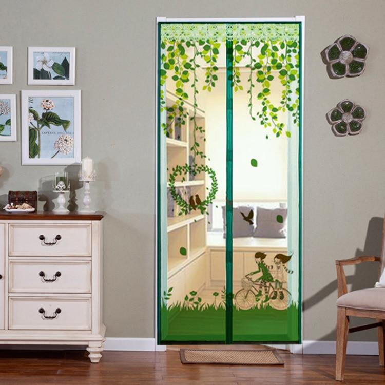 Compra puerta mosquitera magn tica online al por mayor de for Mosquitera magnetica puerta