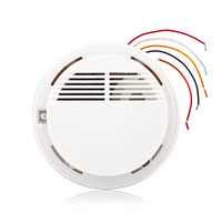 Fuers Wired Fire Smoke Sensor Detector Alarm Tester For Home Security System NEW Product Fire Alarm