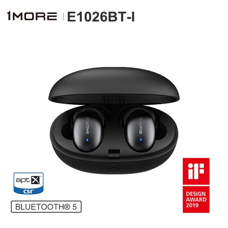 1MORE E1026BT E1026BT I True Wireless Bluetooth 5 0 In Ear Dynamic Driver Earphone Support aptX
