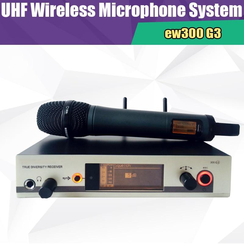 bilder für Freies verschiffen professionelle EW335 EW300 G3 Drahtlosen Handheld-mikrofon Systeme
