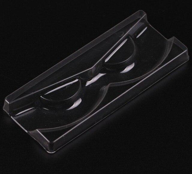 50 Stks/partij Hoge Kwaliteit Acryl Wimper Pull Type Storage Case Verpakking Doos Voor Magnetische Wimper Doos Transparant Deksel Clear Lade