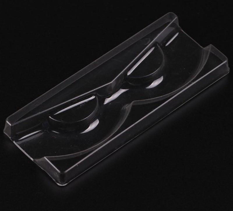 50pcs/lot High Quality Acrylic Eyelash Pull type Storage Case Packing Box for Magnetic Eyelash box Transparent Lid Clear Tray(China)
