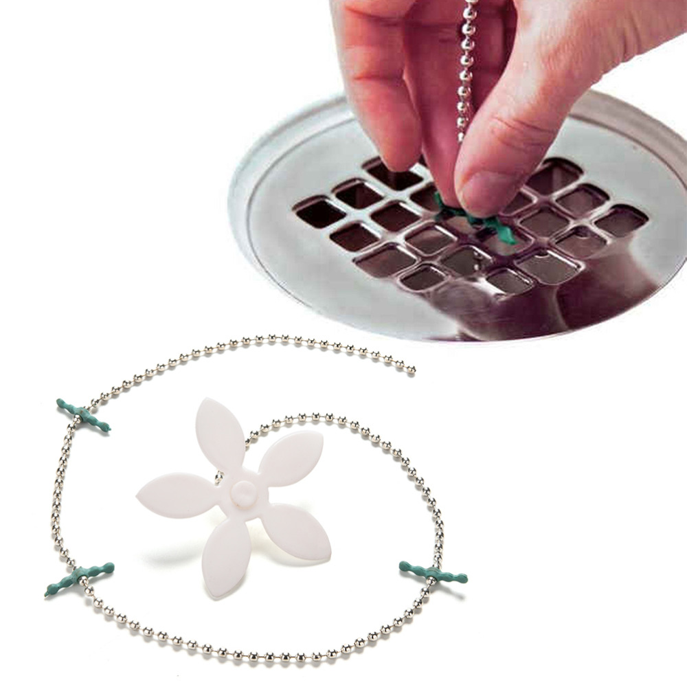 Bathroom Hair Sewer Filter Drain Outlet Kitchen Sink Filter Strainer Drain Cleaners Anti Clogging Floor Wig