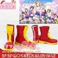 Lovelive! happpy fabricante todo el personal Kousaka Honoka Minami Kotori Sonoda Umi Ayase Eli cosplay Shoes Boots por encargo
