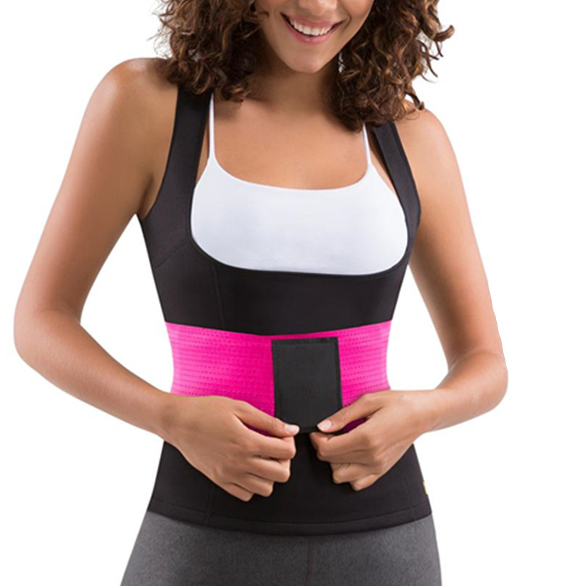 2019 New Waist Trainer Slimming Belt Body Shapers Waist Cincher Tummy Trimmer Girdle Slimming Shirt Women's Postpartum Shapewear