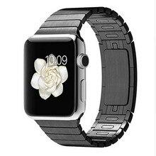 ความยาวปรับสแตนเลสที่ถอดออกได้ดูวง38/42มิลลิเมตรโลหะสายรัดข้อมือสำหรับapple watchสร้อยข้อมือเชื่อมโยงsmart watch