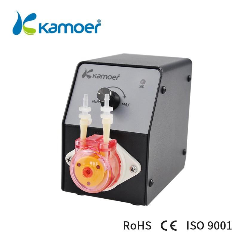 Kamoer KCP2-KFS 24V Water Pump Lab Higher Precision Peristaltic Pump kamoer lab uip peristaltic pump high precision and intelligent water pump