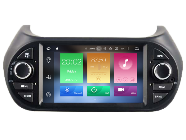 Octa 8 Core Android 6 0 font b CAR b font DVD player FOR DECKLESS FIAT
