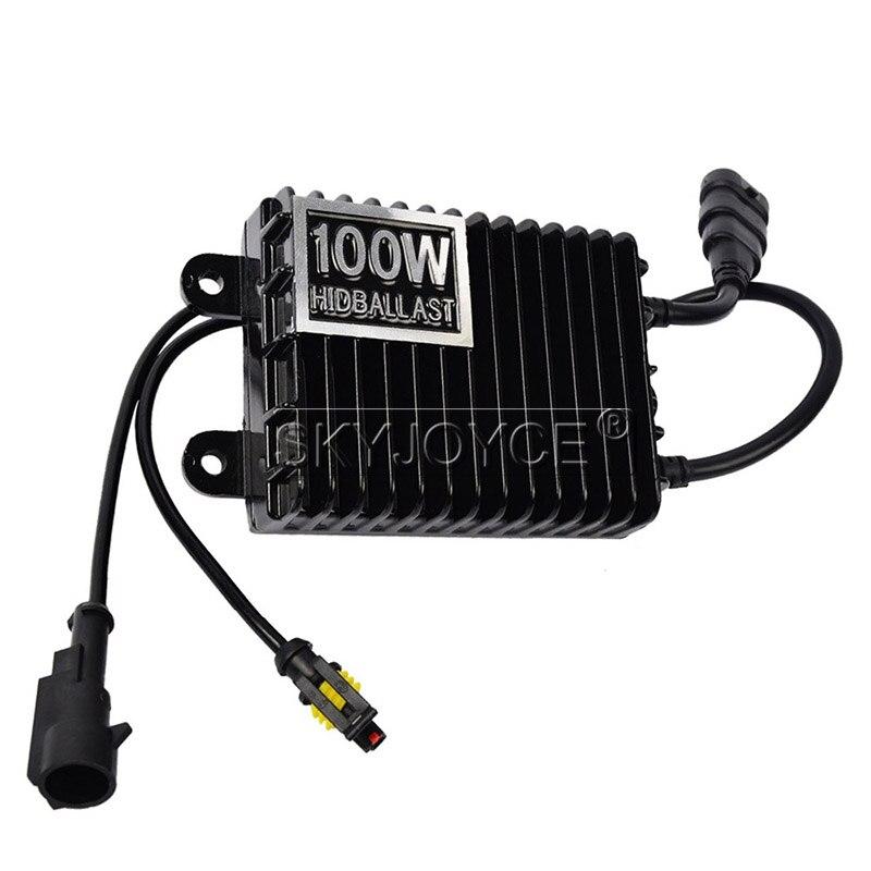 SKYJOYCE 12V 75W 100W 150W AC Digital Electronic Ballast Blocks for Xenon Headlight Lamp H1 H3 H7 H11 9005 9006 HID Xenon Bulb (15)