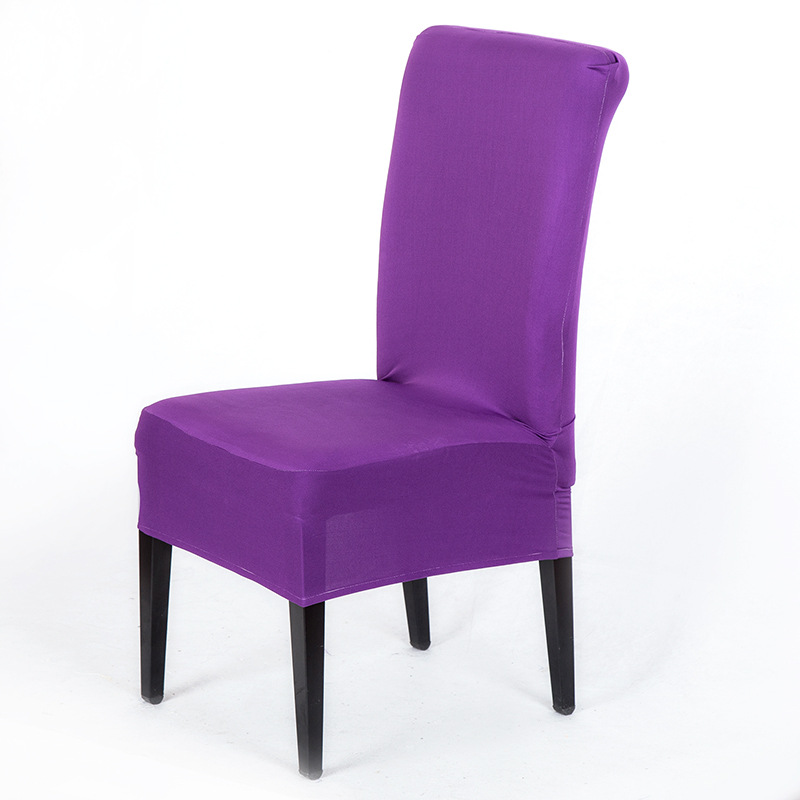 Marvelous Us 0 89 10 Off Colors Dining Chair Covers Spandex Strech Elastic Chair Covers For Wedding Party Home Deco Cover On A Chair In Chair Cover From Home Uwap Interior Chair Design Uwaporg