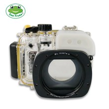 For Canon G15 Waterproof Case Professional Diving Photography Underwater 40m Depth Camera Housing 67mm Interface With All Ports цена и фото