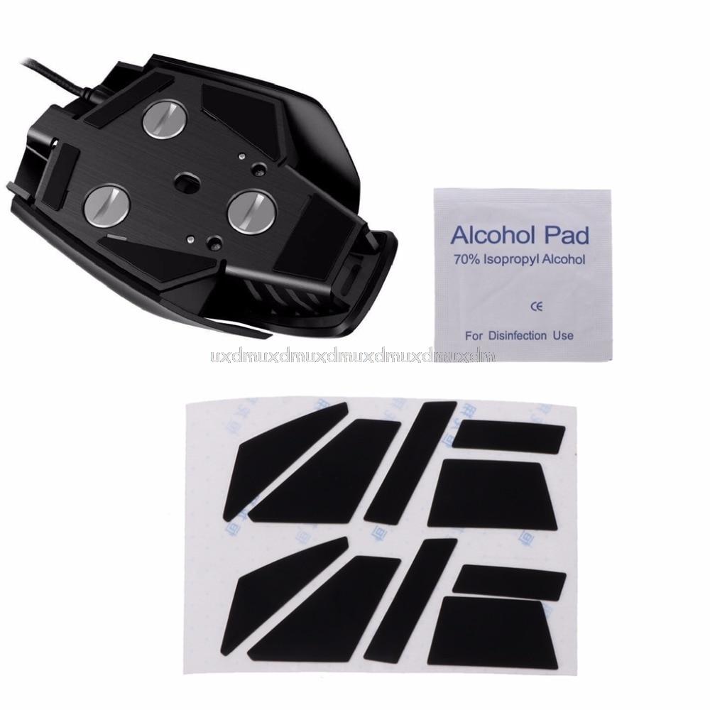 2 Sets 0.6mm Teflon Mouse Skates Muis Sticker Pad Voor Corsair M65 Pro Rgb Muis J05 19 Dropship