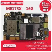 Placa madre Para Asus ME173X tablet ME17 ME173X 16 GB tipo Botón Mainboard motherboard Tableta Placa Lógica Placa base