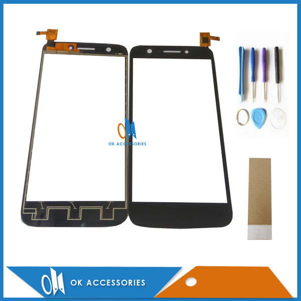 For Prestigio Multiphone PAP5508 DUO PAP 5508 DUO PAP 5508DUO Touch Screen Digitizer Black Color With Tools & Tape 1PC/Lot