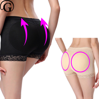 S 3XL 2pcs Butt Lifter Padded Panty Fake Ass Body Shaper Women Seamless BoyShorts Hip Up