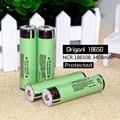 Novo 4 pcs original protegidos 18650 bateria recarregável 3.7 v 3400 mah bateria para panasonic lanterna elétrica da bateria de iões de 18650 li