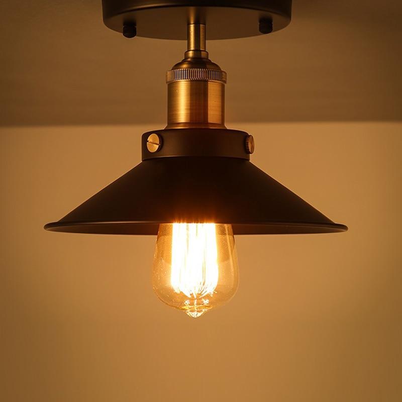 22cm Iron Lampshade E27 Retro Vintage Edison Pendant Light Lamp Shade Industrial Loft Wall Lamp Sconce Lamp Holder22cm Iron Lampshade E27 Retro Vintage Edison Pendant Light Lamp Shade Industrial Loft Wall Lamp Sconce Lamp Holder