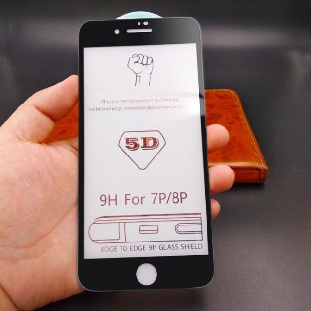 5D Anti-fingerprint Protective Glass for iPhone 7 Screen Protector iPhone 8 Tempered Glass on iPhone XS MAX 6 6s 7 8 Plus Glass 6