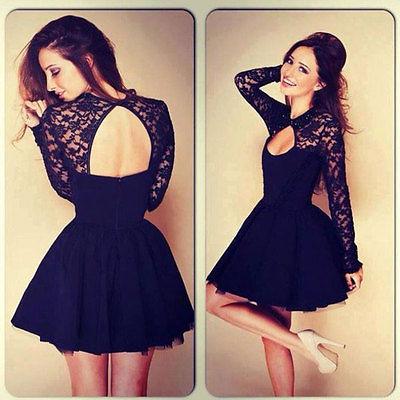Ladies black dress size 10