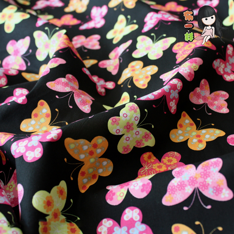 SK 50*145cmNew cotton fabric for tissue Kids Bedding textile for Sewing Doll,DIY handmade cloth Seriers Patchwork fabric