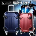 COOL 20 24  inch men suitcase trolley case Transformers 3D ABS+PC extrusion Aluminum frame business Travel luggage Boarding box