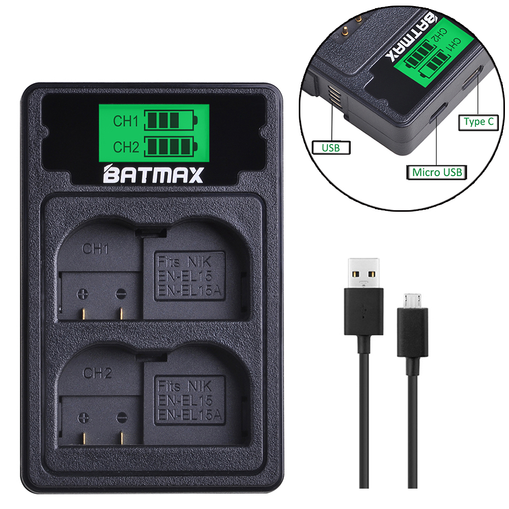 PC Cord for Nikon Coolpix S4300 yan USB AC//DC Power Adapter Camera Battery Charger