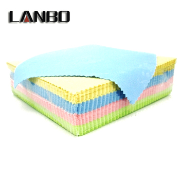 LANBO 50Psc Lens Clothes Eyewear Accessories Cleaning Cloth Microfiber Sunglasses Eyeglasses Camera Glasses Duster Wipes13x13 CM
