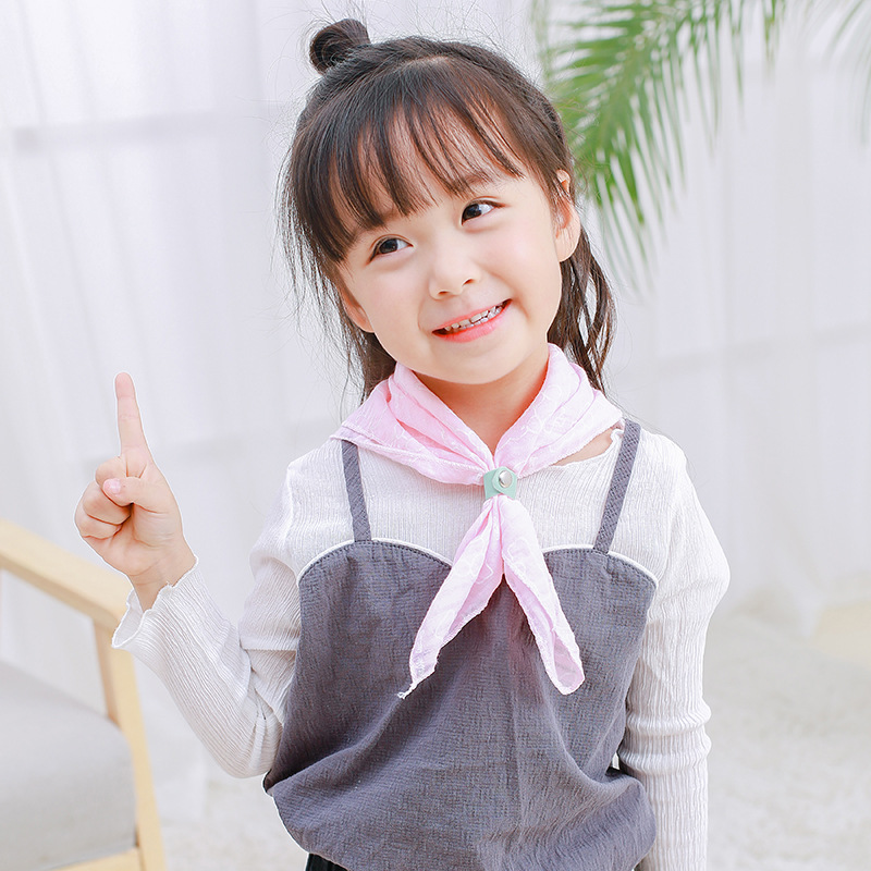 MAINEOUTH 1Pcs 45*45cm Spring Winter Cute Scarf Baby Girl Kids Child Outdoor Home Lovely Scarf