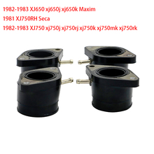 Xj750cr seca 1981 porta carburador, de admissão, para yamaha xj 650 750 xj650 pro maxim xj750 xj750j p.com 1982   1983
