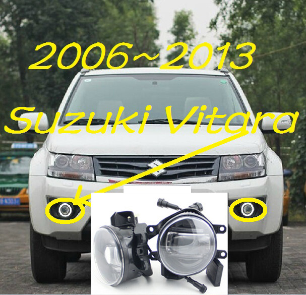 Vitara light,Jimny fog light,2pcs,LED,SX4 daytime light,Free ship! Swift fog lamp teana fog light 2pcs set led sylphy daytime light free ship livina fog light