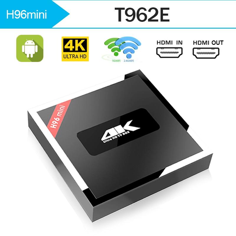 Originale T95Z Più Smart TV BOX 2 GB/16 GB Amlogic T962E Octa Core Android 7.1 TVBOX 2.4G/5 GHz WiFi BT4.0 4 K décodeur