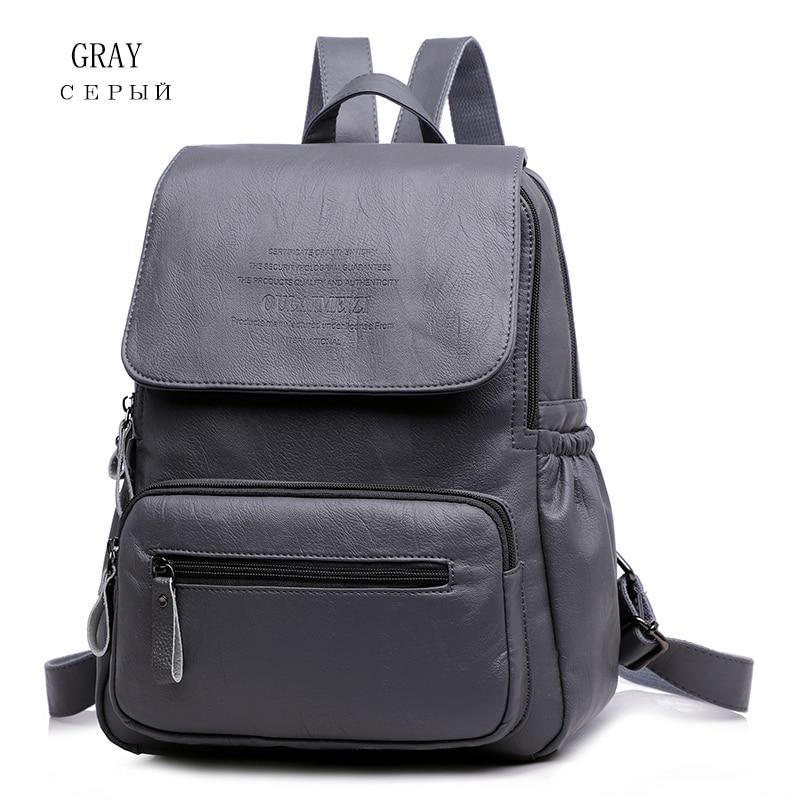 HTB14XOfR4TpK1RjSZFMq6zG VXas 2019 Women Leather Backpacks High Quality Ladies Bagpack Luxury Designer Large Capacity Casual Daypack Sac A Dos Girl Mochilas