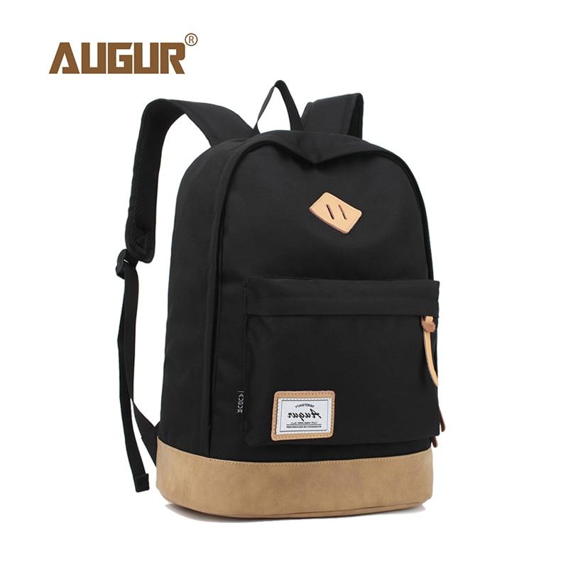 9a19af98a88d АВГУР 15 дюймов японская школьная сумка рюкзак для ноутбука для мужчин и  женщин Повседневная парусиновая рюкзак колледж моды школьные рюкза.