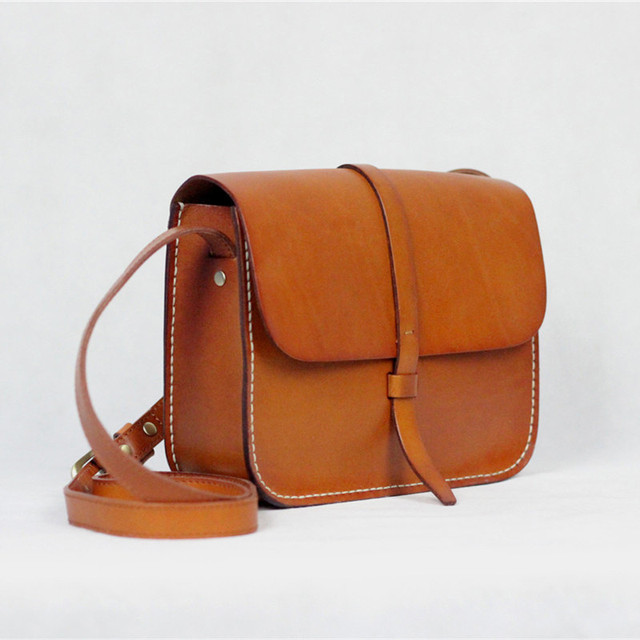 d9e2f6515a90 Nesitu Fashion 2017 New Vegetable tanned Genuine Leather Small Women  Messenger Bags Cowhide Woman Shoulder Bags  M705