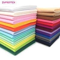 ZYFMPTEX Mais Barato Diy Boneca Tecido Têxtil de Fibra De Largura 140 cm de Alta densidade Cochilo Telas Tissus Costura Retalhos Handmade 29 Cores