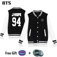 BTS Baseball Jacket Rap Monster Jungkook V Bangtan Boys Kpop Wings Casual Fashion Winter Coats And
